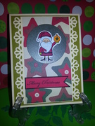 GKD  Merry Santa with Ornament!