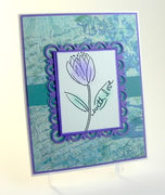 With Love Tulip Card