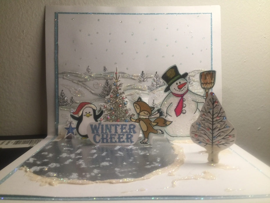 GLITTER2015 - WINTER WISHES WITH CHEER