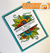 Bold and Blooming Coloring Book Style