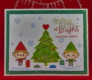 Elves Merry and Bright - Mod Squad Challenge