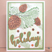 Pattern Paper from Stamps