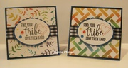 Find Your Tribe Note Card Set