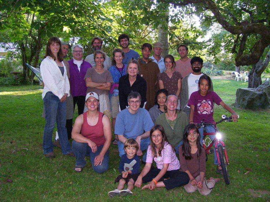 Transition Laurel 1st potluck 8.09
