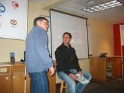 David introduces Tim