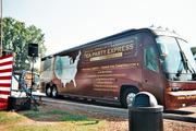 Tea Party Express bus tour stop in Milford MI 9/3/11