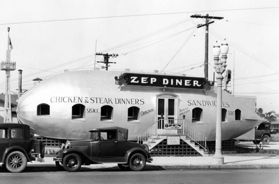The Zep Diner, Los Angeles 1931