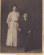 Archiblad MACLACHLAN Evalena HUSSEY Wedding 1905