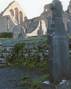 The Cemetery at Cong Abbey in Cong, County Mayo, Ireland
