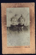 Elizabeth Routsong Norris and Ella Routsong Barnes
