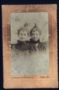 Elizabeth Routsong Norris and Ella Routsong Barnes