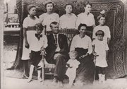 Family of William Riley Benson and Fannie Powell Benson