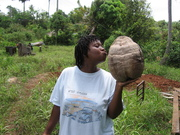 Now that's a coconut