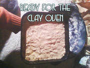 Ready for the Clay oven