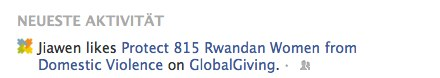 Liking Protect 815 Rwandan Women From Domestic Violence