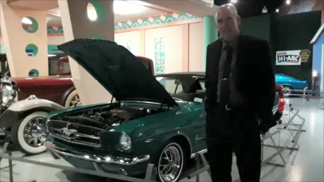 Opening Night of the Special Mustang Exhibit AACA Museum Perry and his Henry Ford II special edition