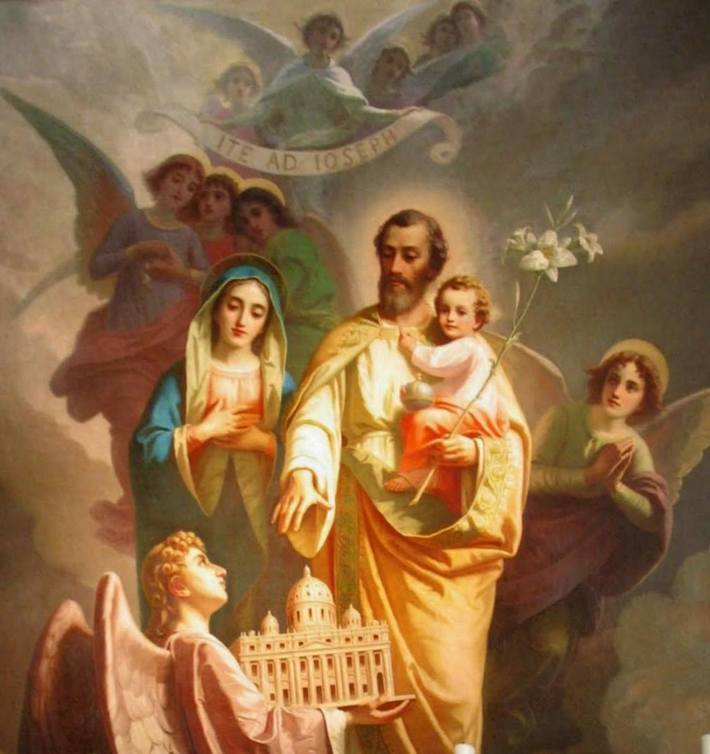 St Joseph - Patron of the Universal Church.