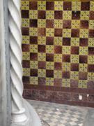 Tiles in Myddleton Rd