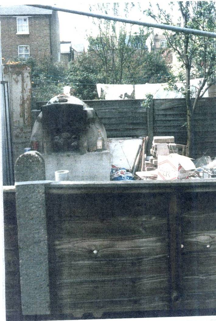 Clay oven in Myddleton Road