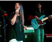 Lauren singing