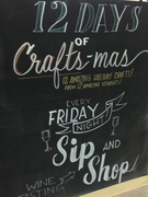Celebrating the season at Crafted in San Pedro, Los Angeles, Ca.