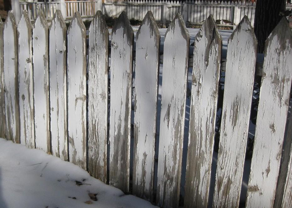 Winter fence Boulder