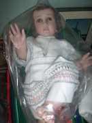 El Niño Jesus de Nacido con su Alba Calada.