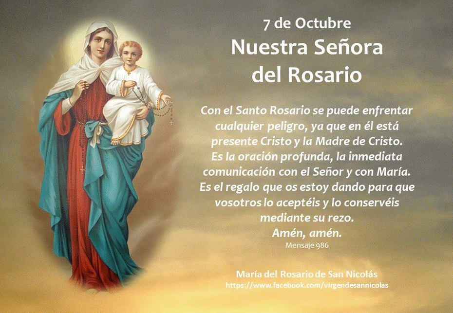Fiesta 7 de Octubre N. Sra. del Rosario