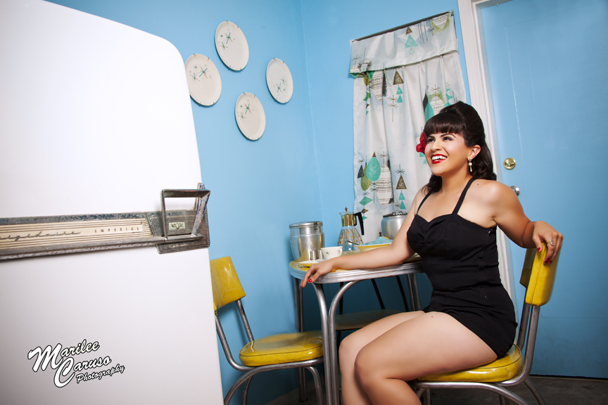 Marilee Caruso Pinup Shoot