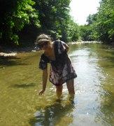 ზაფხული გრილია მდინარეში