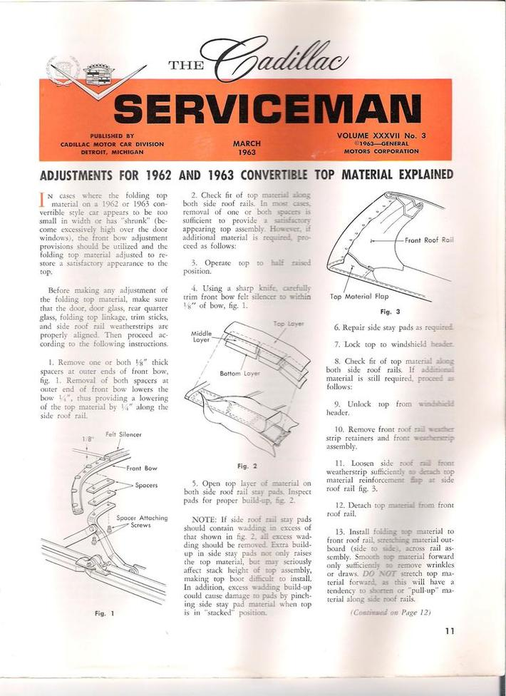 1963 Cadillac Serviceman pg11