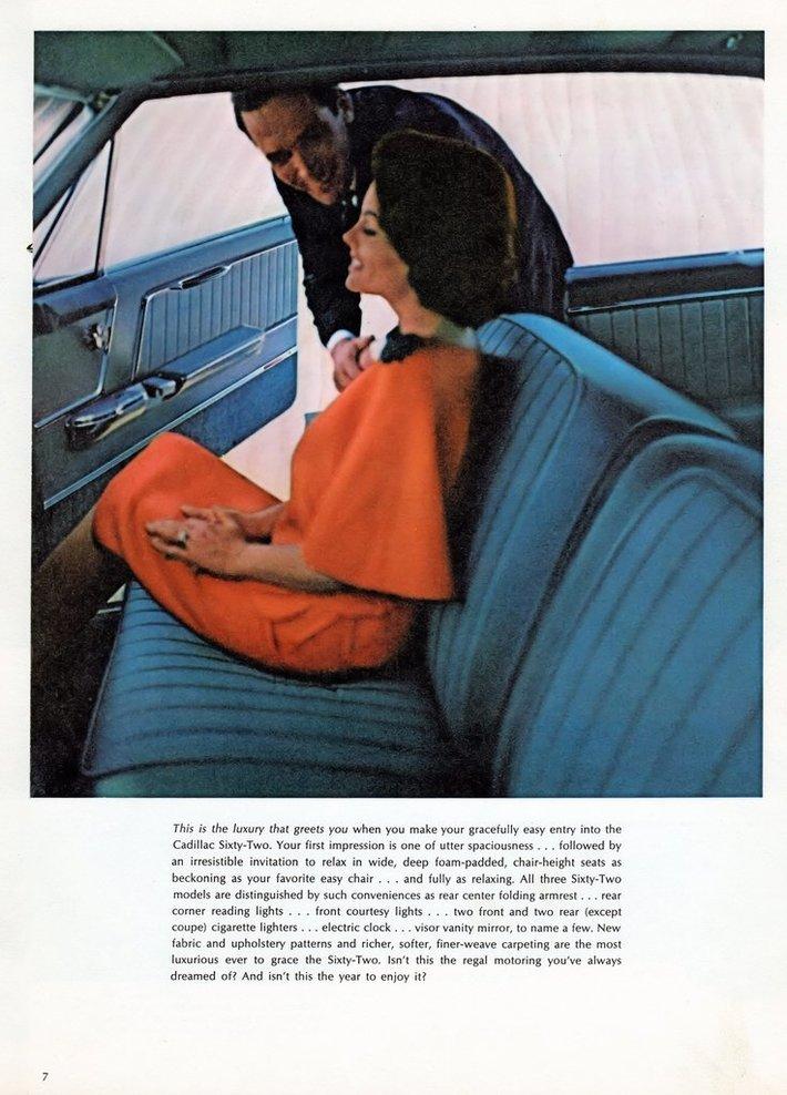 1964 Cadillac Brochure Page 7