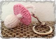 Schnuller als Schlüsselanhänger