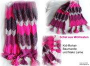 Schal aus Wollresten