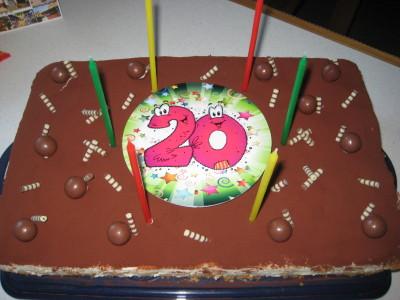 Geburtstagstorte für Sohnemann