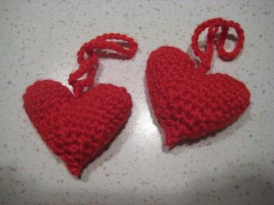 Valentinsherzen - Schlüsselanhänger