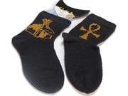 Socken mit Ägyptischen Motiven