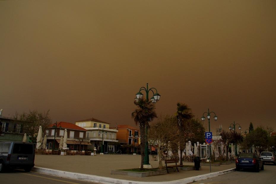 Το αφρικανικό πέπλο σκόνης...