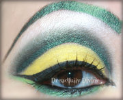 St Patty's Day Eye done with BeautyBarBaby
