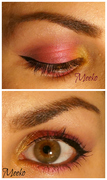 Pink Orchid inspired eyeshadow