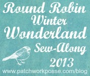 2013- Round Robin Winter Wonderland Quilt Along