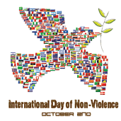 2nd October - International Day of Nonviolence