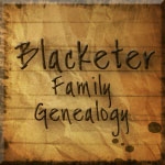Blacketer Family Genealogy