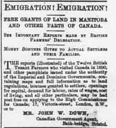 North Devon Emigrants