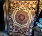 finished lone star challenge quilt