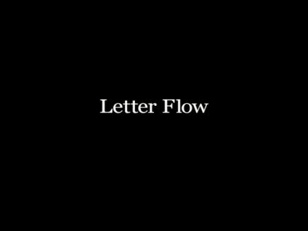 Letter flow