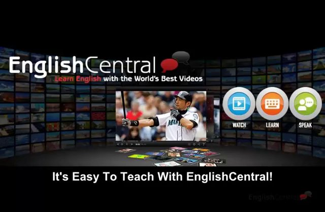 Teaching With EnglishCentral