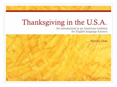 Thanksgiving in the U.S.A