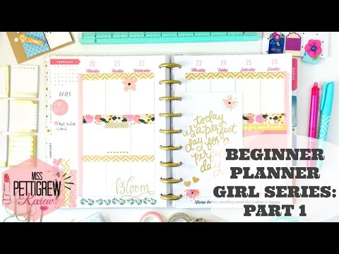 Happy Planner 101: Planner Decoration Tutorial 365 Happy Planner by MAMBI