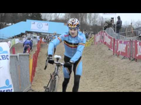 Americans riding the sand at Koksijde